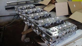 превращение карбюраторной ГБЦ в инжекторную (ВАЗ)
