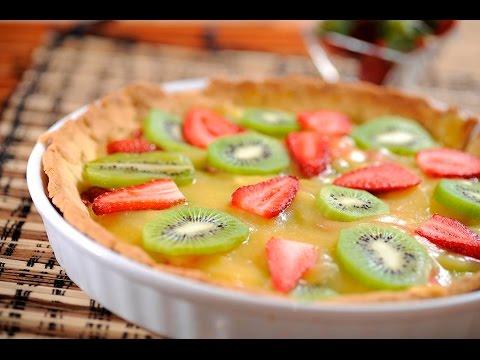 Pay de frutas postre f cil de preparar cocina al for Comidas faciles de preparar