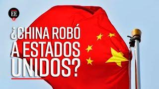 China acusó a Estados Unidos por calumnia, después de que los norteamericanos señalaran que los asiáticos les habían robado información sobre los ...