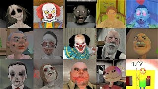 Caught Battle | Dread Teacher Granny Evil Kid Evil Nun Headhorse It Clown Erich Sann Mr Meat & More