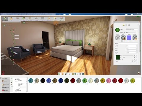 SimLab Composer Architectural series (material system tutorial)