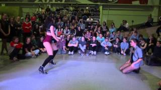 Ghetto Blaster 2013 | waacking | Anastacia IceCreamCrew vs Karina Thumbnail