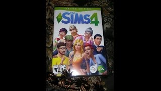Unboxing of the Sims4 Limited Edition