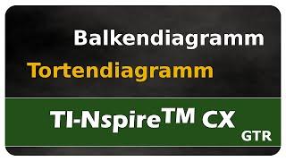 Let's Learn TI Nspire™ CX Balkendiagramme und Tortendiagramme darstellen