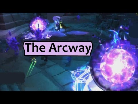 how to get to the start of the arcway