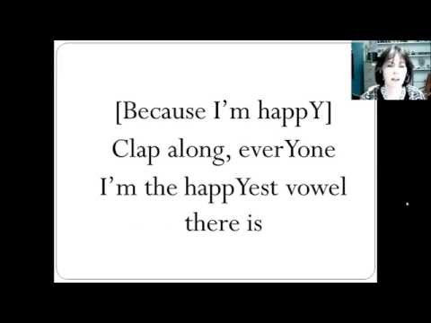 The happY vowel song