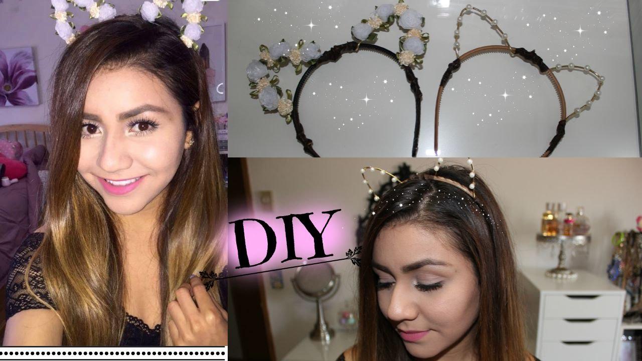 Diy Cat Ears Ariana Grande