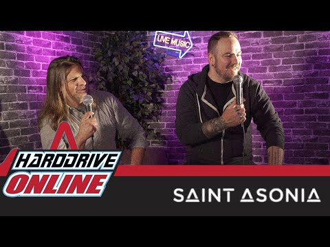 """Saint Asonia - On Their New Single 'The Hunted' And New Album """"Flawed Design""""  