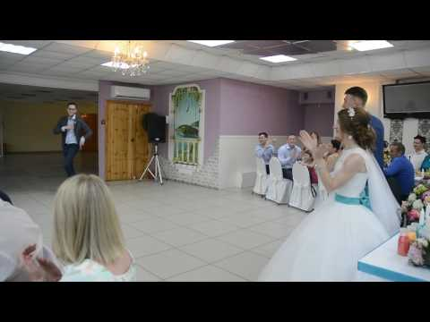 Лучшее поздравление от брата жениха. Свадьба Дениса и Полины 15 июля 2017 - Видео приколы смотреть