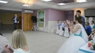 Лучшее поздравление от брата жениха. Свадьба Дениса и Полины 15 июля 2017