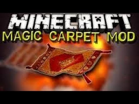 Magic carpet minecraft mod