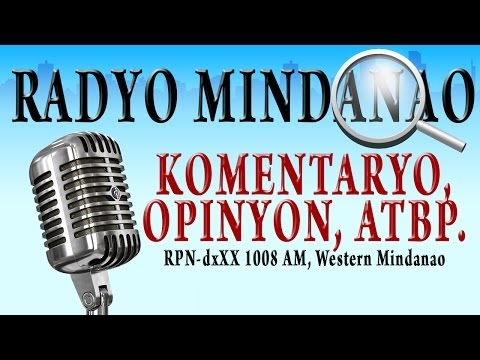 Radyo Mindanao October 25, 2016