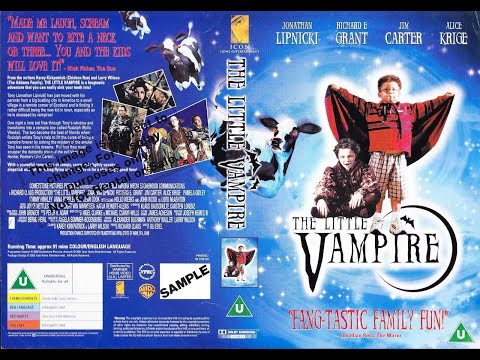 Original VHS Opening: The Little Vampire (2001 UK Rental Tape)