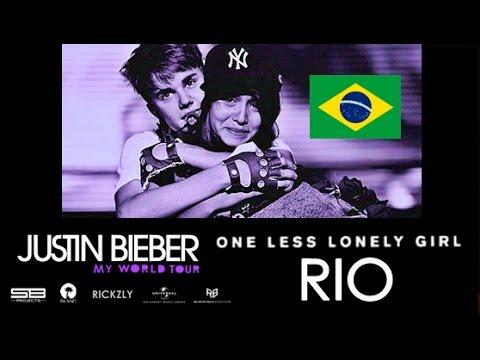 One Less Lonely Girl (Rio De Janeiro, Brazil) Justin Bieber: My World Tour 2011 (HDTV)