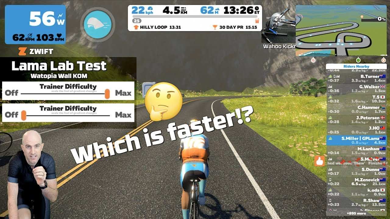 Zwift without smart trainer - Bike Forums