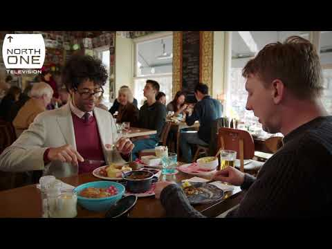 Richard Ayoade and Joe Lycett's 'Moeders Dinner' in Amsterdam - Travel Man: 48hrs in...