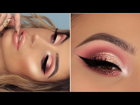 SPRING OMBRE GLITTER EYESHADOW TUTORIAL