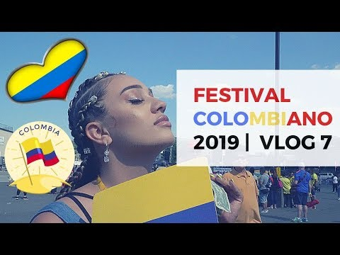 COLOMBIAN DAY FESTIVAL 2019 | VLOG 7