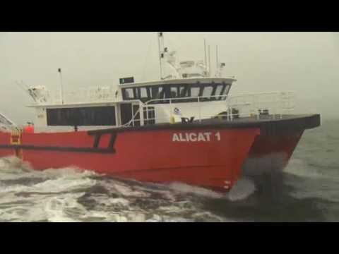 GMD - 20m Offshore Wind Farm Catamaran - 'Alicat 1'