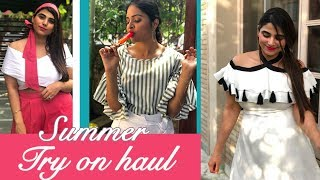 Spring Summer Try  On Haul with StalkBuyLove || Must have summer trends 2018