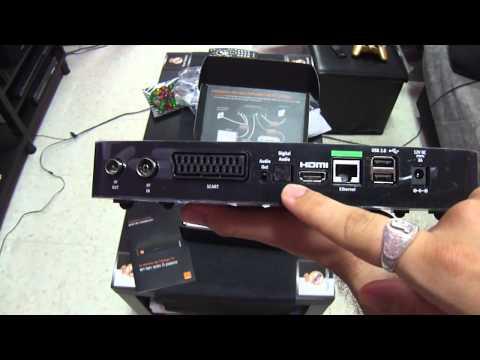 Unboxing Orange Tv OHD80 Español