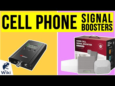 10 Best Cell Phone Signal Boosters 2020
