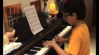 Francisco Costa (9 Anos) - J.S. Bach Menuet Poco Allegretto nº2 Sol M
