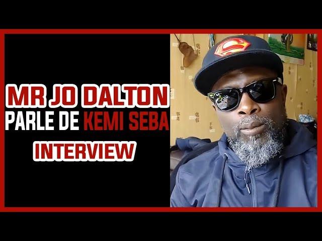 Mr Jo Dalton parle de Kemi Seba