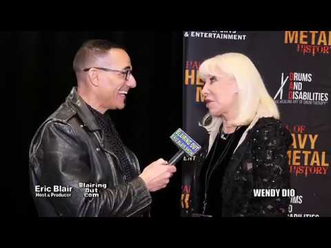 Wendy Dio & Eric Blair talk future Dio documentary Hall Of Heavy Metal History 2019