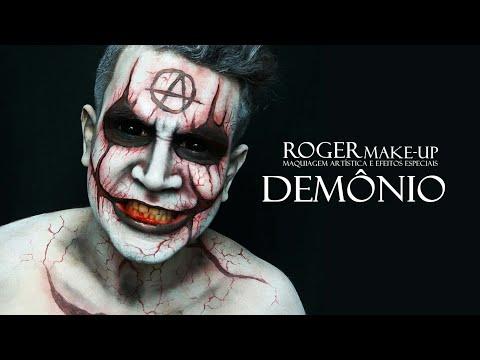 Maquiagem Demonio Inspirado Em Elijah Sfx Youtube