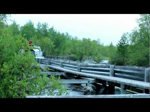 Ylös Nitsikoskesta- Up Nitsikoski white rapids