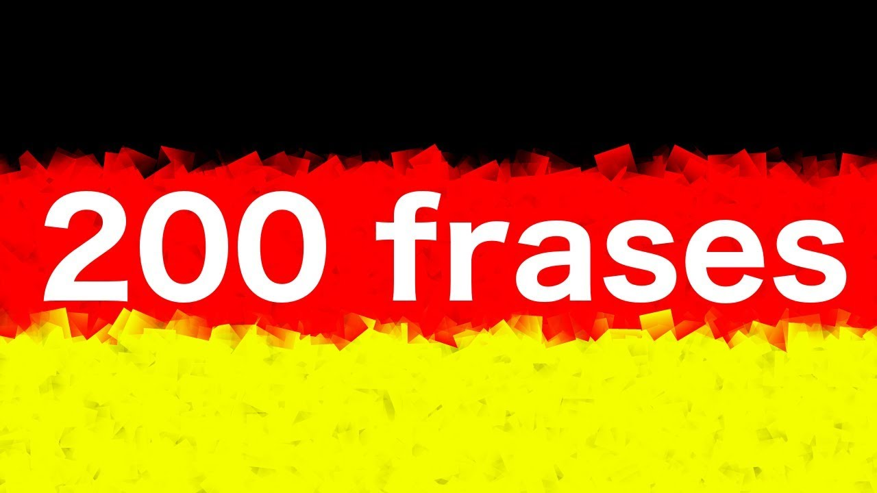 Aprender Alemán 200 Frases En Alemán Para Principiantes Nativo
