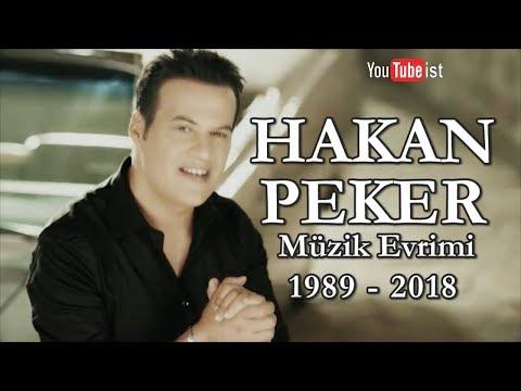 Hakan Peker Müzik Evrimi   1989 - 2018 Youtubeist