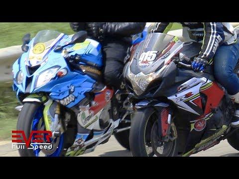 Suzuki GSXR 1000 VS BMW S1000RR | Drag Races
