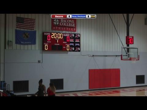 Bacone College Women's Basketball vs. Texas Wesleyan University