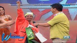 Wowowin: Inang garbage collector, pinaligaya ni Kuya Wil