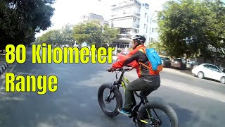 Riding the Fastest Electric Fat Bike | Hero Lectro Renew | Electric Fat Bike