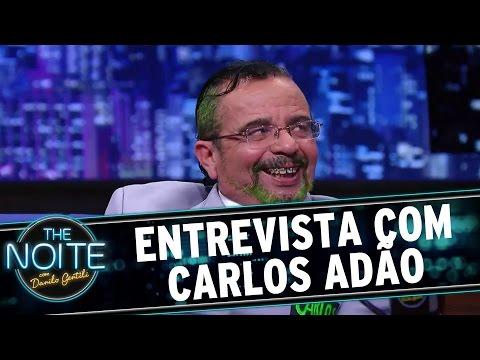 The Noite (16/12/15) - Entrevista Com Carlos Adão
