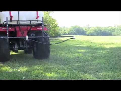 25 Gallon ATV Sprayer with 10 Foot Breakaway Boom - Master Manufacturing