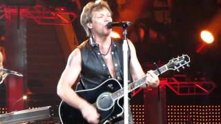 Bon Jovi - The More Things Change (Live) 5-6-11