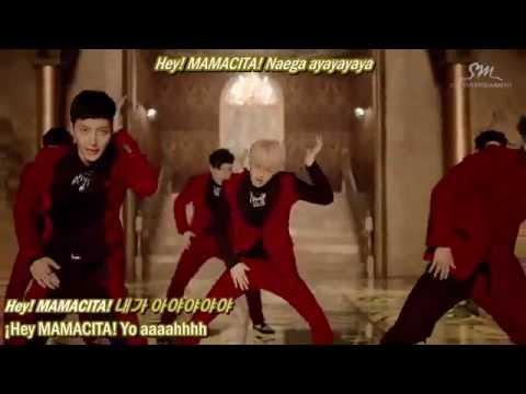 MAMACITA (아야야) - Super Junior [Esp + Rom + Hangul]