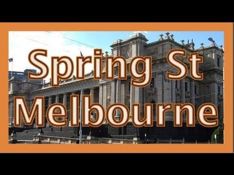 Spring St Melbourne Info Drive