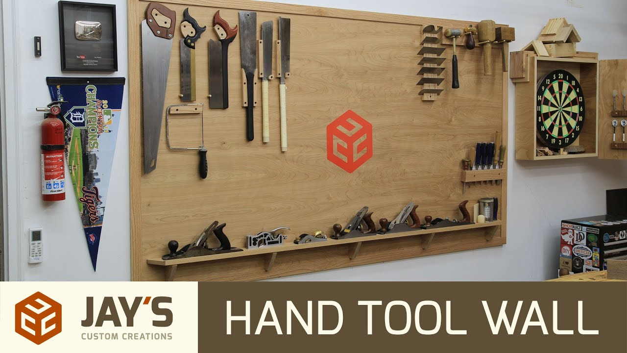 Making A Hand Tool Wall 245 Youtube