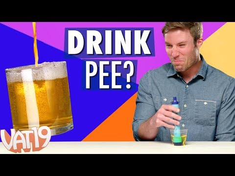 LIFESTRAW CHALLENGE: Drinking Pee, Backwash & More!