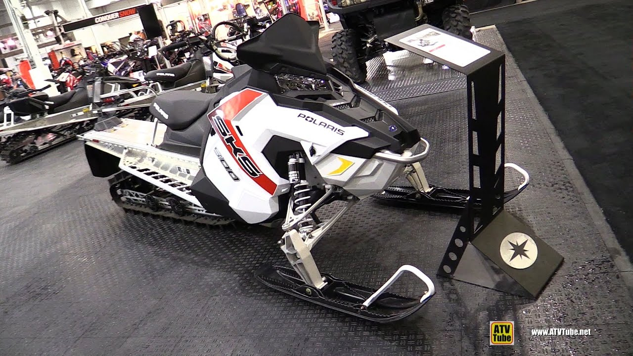 2017 Polaris Sks 800 155 Sled Walkaround 2016 Toronto Atv Show You