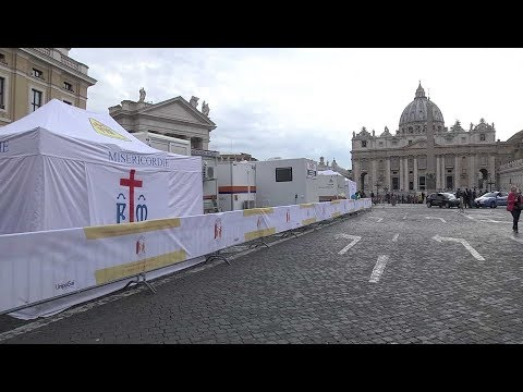 The Vatican will open a tent hospital next to St. Peter's for a few days