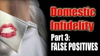 DOMESTIC INFIDELITY  Part 3  UNDERSTANDING FALSE POSITIVES