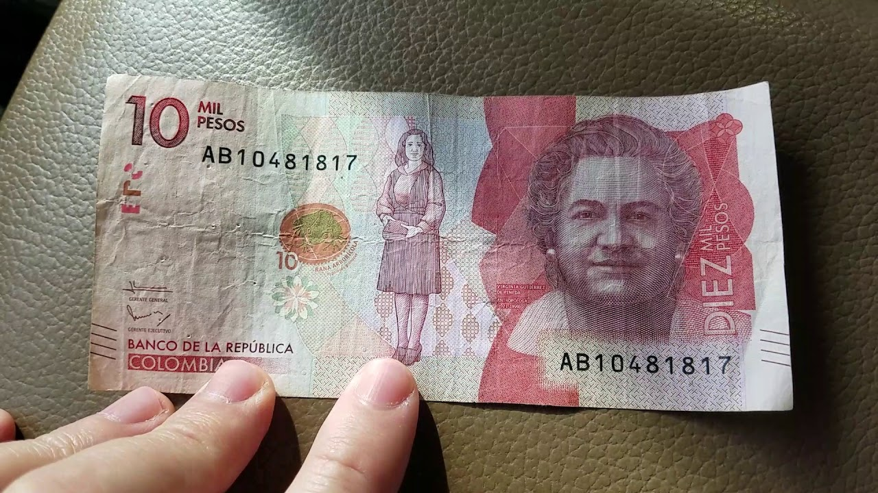 Colombian Pesos Z Mil Colombia