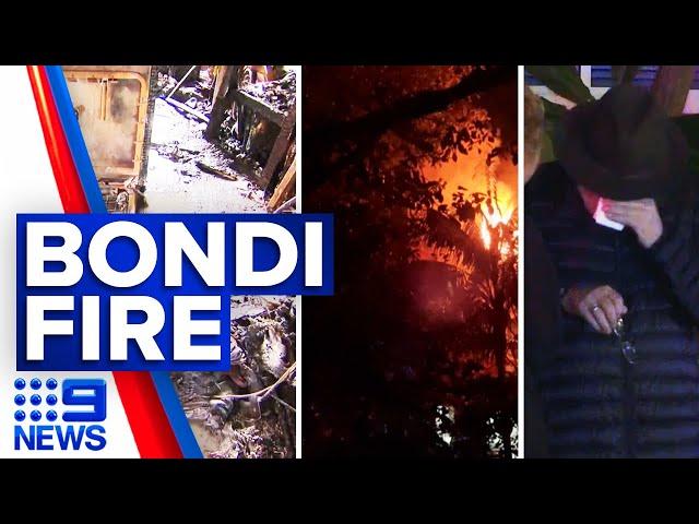 Six rescued in Bondi house fire | 9 News Australia