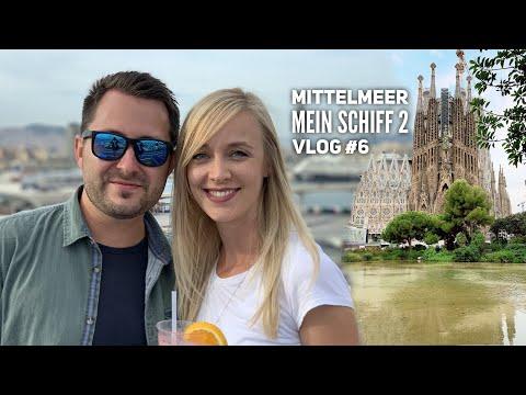 Mittelmeer mit Ibiza - Mein Schiff 2 Vlog #6: Seetag & Barcelona